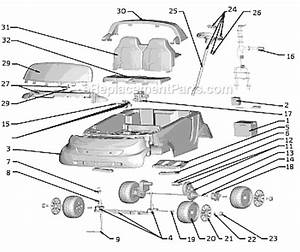 Power Wheels T5407 Parts List And Diagram