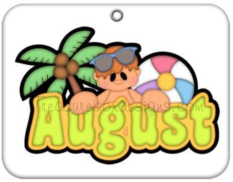 August clipart by month image - WikiClipArt