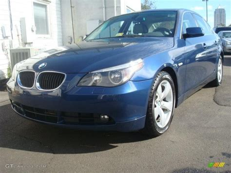 2006 Bmw 525i Review by 2006 Mystic Blue Metallic Bmw 5 Series 525i Sedan