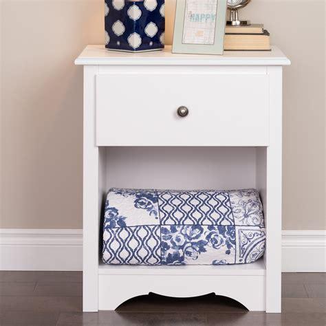 prepac monterey tall white  drawer nightstand reviews