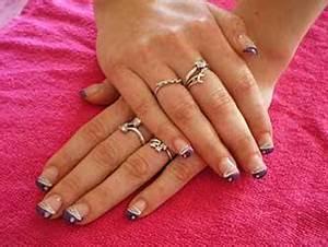 Déco French Manucure : deco ongles french couleur deco ~ Farleysfitness.com Idées de Décoration