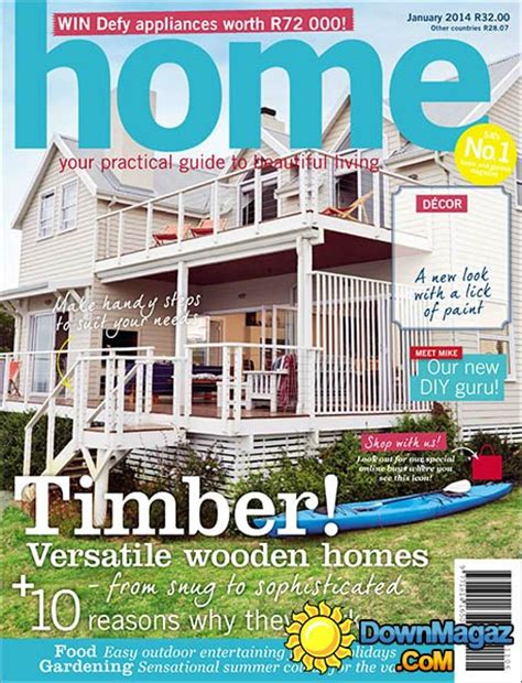 Decor Magazine South Africa by Home South Africa January 2014 187 Pdf Magazines