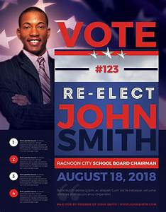 voting flyer templates free - best political flyer templates seraphimchris graphic