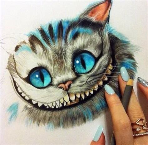 chester cat  alice  wonderland art alice
