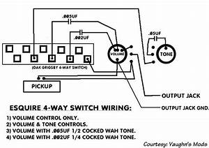 4 Way Esquire Wiring Help