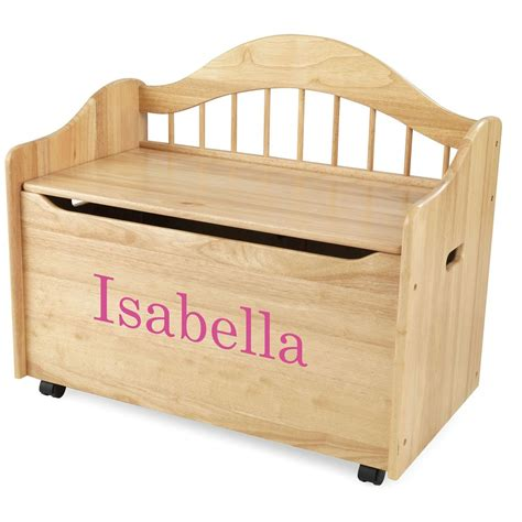 kidkraft personalized limited edition toy box natural a=