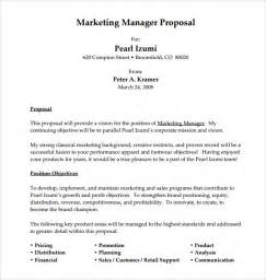 Sample Job Proposal Template 7 Free Documents Download