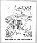 Accordion Bay Area Coloring Symphony Morrie Turner Pals Creators Wee Complements 1999 sketch template