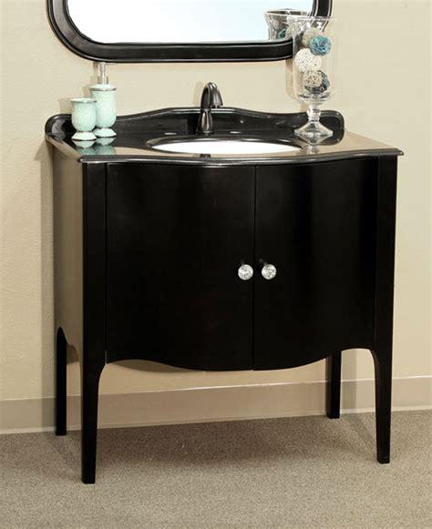 apron sink bathroom vanity 36 6 inch single sink apron front vanity by bellaterra