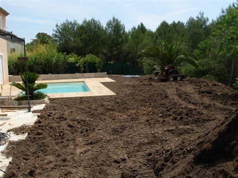 terrassement et terre v 233 g 233 tale jardin mougins remise en