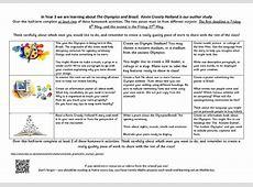 Olympics Homework Matrix 1 Brecknock Primary School
