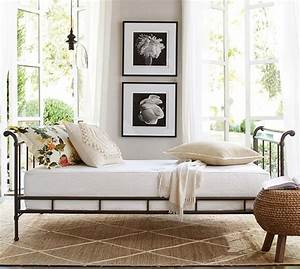 loleta iron daybed pottery barn With day beds pottery barn