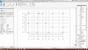 Creating Column Layout Plan In Revit