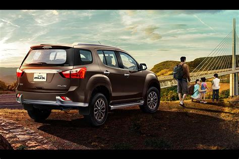 The Tiger-inspired Isuzu Mu-x Suv Launched In India