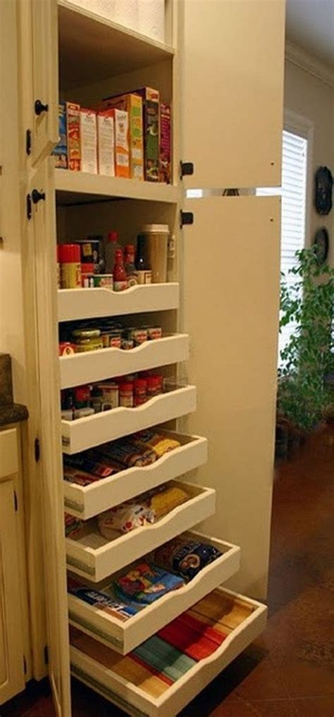 build pull  pantry shelves diy projects