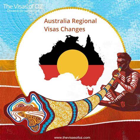 Australia Regional Visas Changes - Regional Immigration ...