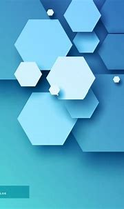 Free Vector   Blue background with hexagons