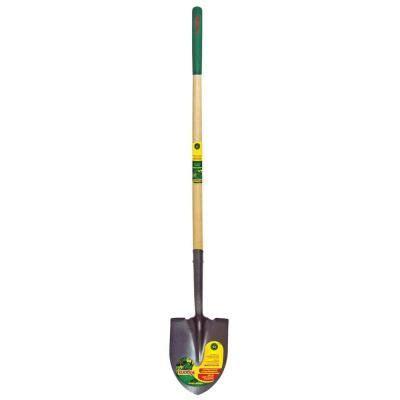 home depot garden tools vigoro 44 in handle steel point shovel 1329100