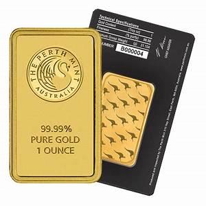 Perth Mint 1 Oz Gold Bar Gold Bullion Co