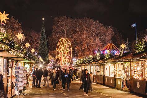 christmas markets  london   festive