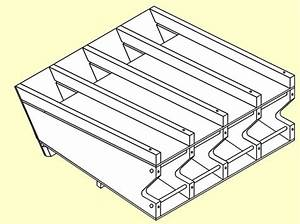 40 Canned Food Storage Rack Plans, How To Build A Rotating