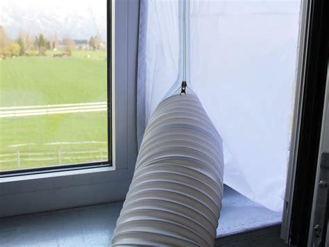 mobiles klimagerät mit abluftschlauch fensterdurchf 252 hrung zu mobilen klimagert 228 en mit abluftschlauch