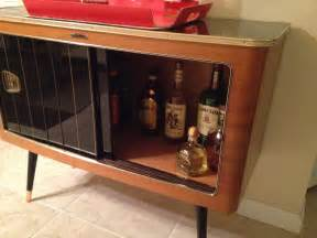 diy liquor cabinet with black sliding glass door used mid