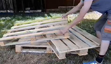 fabriquer canapé palette fabriquer canape metal et bois fenrez com gt sammlung