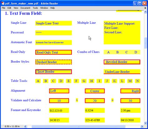 download create fillable form pdf free free software
