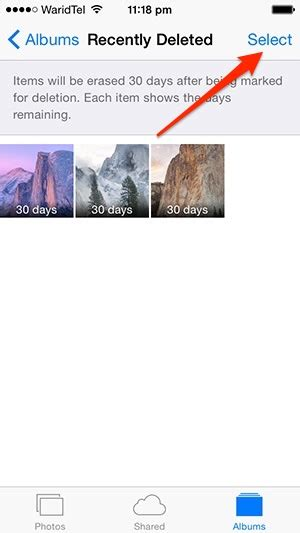 recently deleted photos iphone how to recover or permanently delete photos in ios 8 ios
