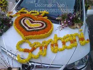 Car Decoration - Wedding Decorations in Kolkata Flower