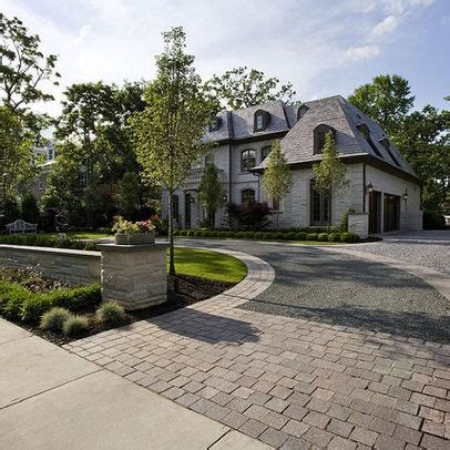 front drive designs driveway circle design new home inspiration pinterest