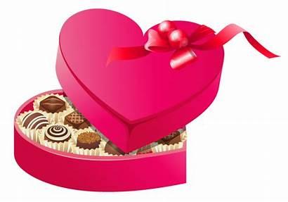 Chocolate Clipart Valentine Valentines Chocolates Roses Transparent