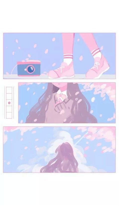 aesthetic anime pastel wallpapers