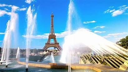 Summer Wallpapers Paris France Desktop Fountain Backgrounds