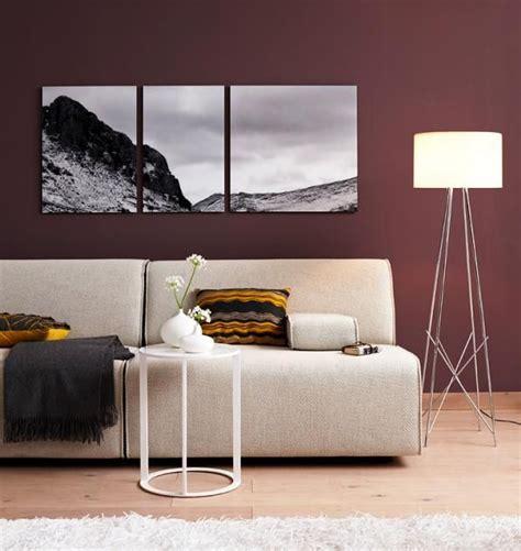 Wohnzimmer Geeignet by Fotos Und Bilder Auf Leinwand Das Richtige Material