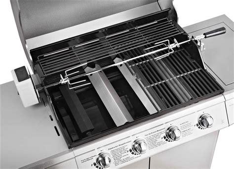 bbq gasgrill edelstahl gas grill grillwagen barbecue ebay