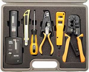 Professional Network Installer Tool Kit 10 Piece With