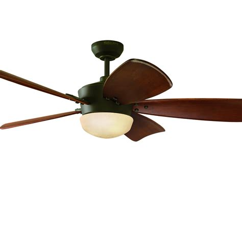 lowes ceiling fans with lights and remote shop harbor breeze saratoga 60 in oil rubbed bronze
