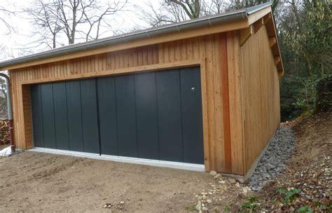 garage en ossature bois rh 244 ne toitures