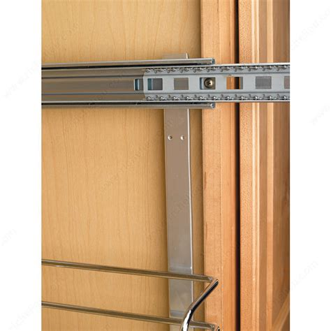 sliding baskets for kitchen cabinets pull out basket in chrome wire richelieu hardware 7980