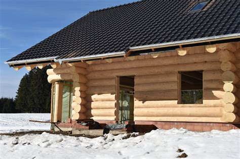 Feststehende Tiny Häuser kleine h 228 user aus rundstammholz tiny houses