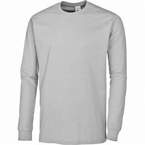 Tee Shirt Homme Manches Longues : t shirt homme femme manches longues peut bouillir col rond ~ Melissatoandfro.com Idées de Décoration