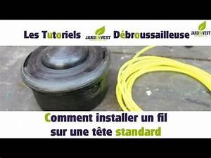 Comment Changer Le Fil D Une Débroussailleuse : comment remplacer le fil de coupe d 39 une d broussailleuse ~ Dailycaller-alerts.com Idées de Décoration