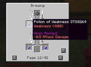 Weakness Potion