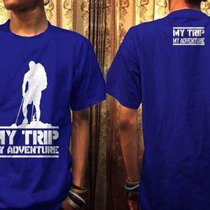 Kaos Mytrip Mtma Putih jual kaos my trip my adventure ot design mtma 2 biru