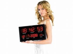 Led Uhr Wand : lunartec multi led uhr mit datum temperatur ~ Whattoseeinmadrid.com Haus und Dekorationen