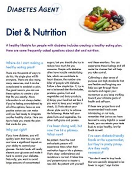 dealing  diet diabetes agent