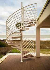 Outdoor, Spiral, Staircase, Designs, To, Complement, The, House, Exterior