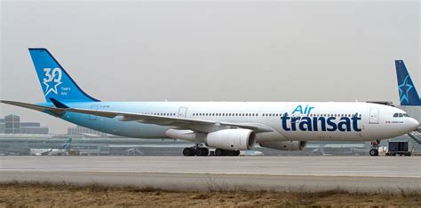 air transat inflight air transat celebrates 30 years with special anniversary livery skies mag